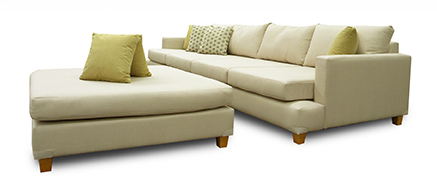 Sunshine 4 seater in warwick cream fabric