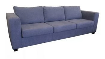 Cairns 3 seater sofa in blue fabric